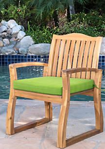 Commonwealth Home Fashions Botanical Arm Chair Cushion