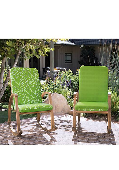 Commonwealth Home Fashions Botanical High Back Patio Cushion