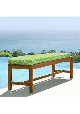 Botanical Bench Seat Cushion