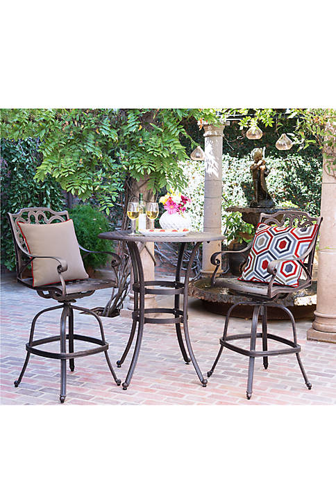 Commonwealth Home Fashions Cool Geo High Back Patio