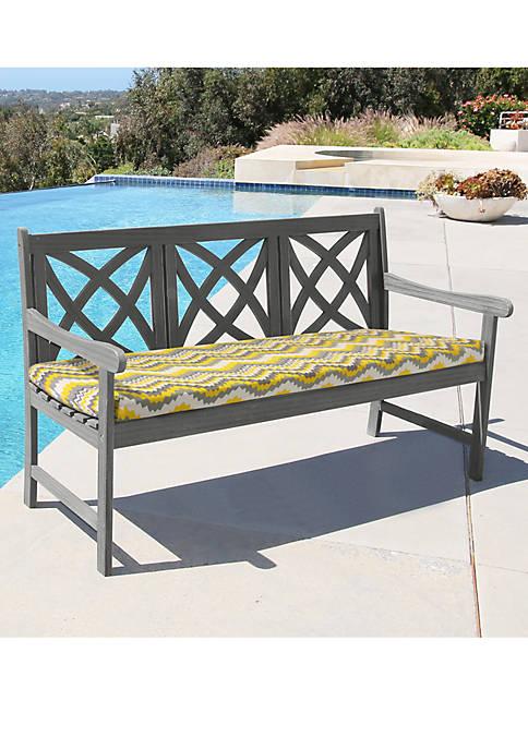 Commonwealth Home Fashions Coronado Bench Seat Patio Cushion