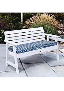 Commonwealth Home Fashions Manteo Bench Seat Patio Cushion