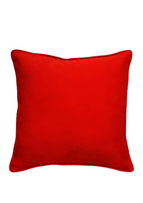Commonwealth Home Fashions Rouge Jockey Decorative Outdoor Pillow