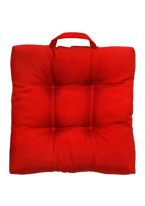 Commonwealth Home Fashions Rouge Jockey Adirondack Patio Cushion