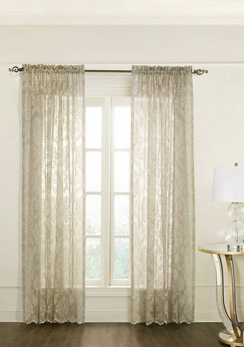 Commonwealth Home Fashions Columbus Rod Pocket Panel Curtains