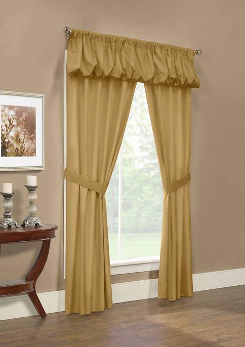 Commonwealth Home Fashions Prescott 5 Piece Curtain Set
