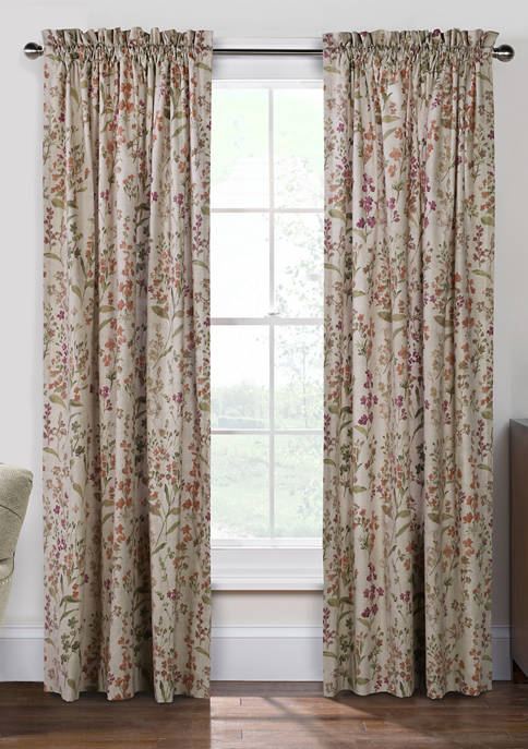 Commonwealth Home Fashions Rockport Rod Pocket Panel Curtains