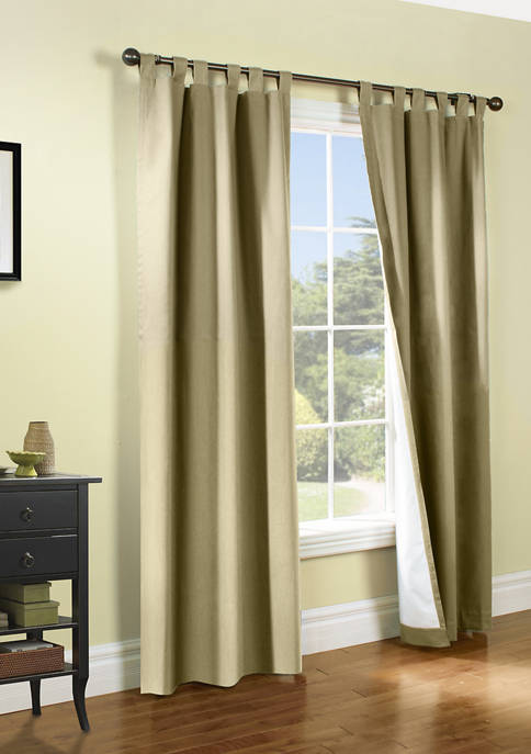 Commonwealth Home Fashions Weathermate Tab Top Panel Pairs