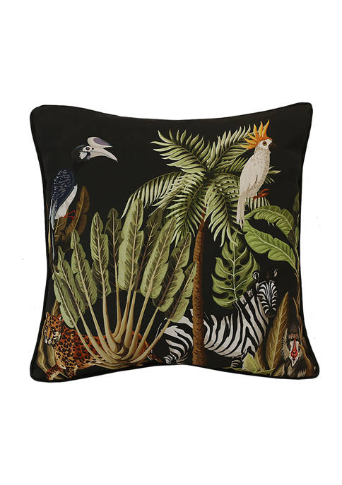 Commonwealth Home Fashions Refined Palms In The Jungle