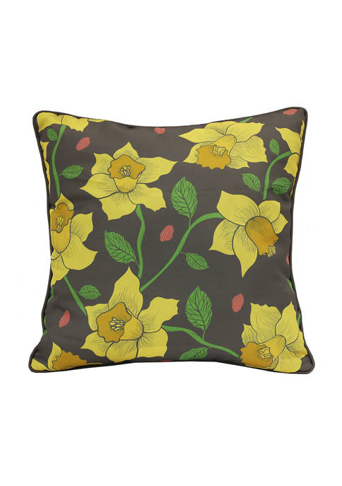 Sundrenched Garden Daffodils Patio Cushion