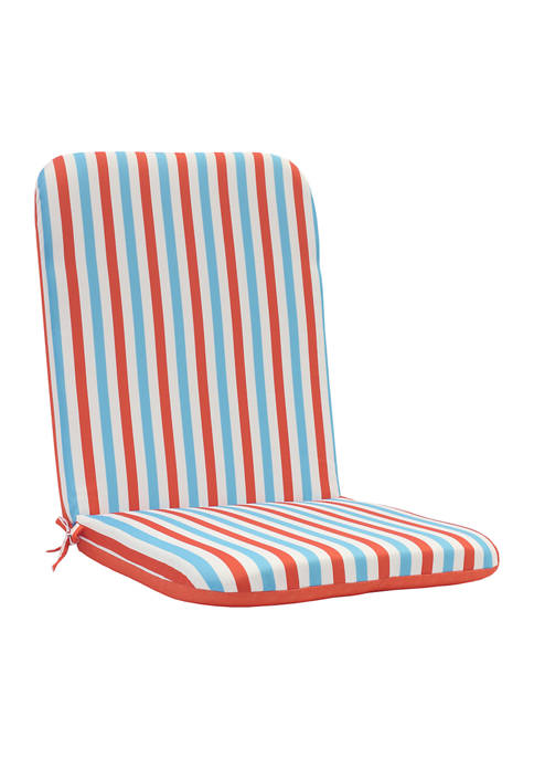 Spicy Coral High Back Cushion
