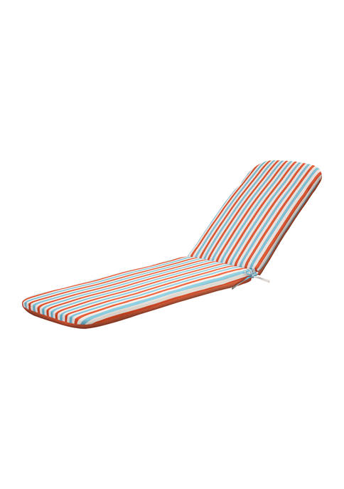 Spicy Coral Lounger Cushion