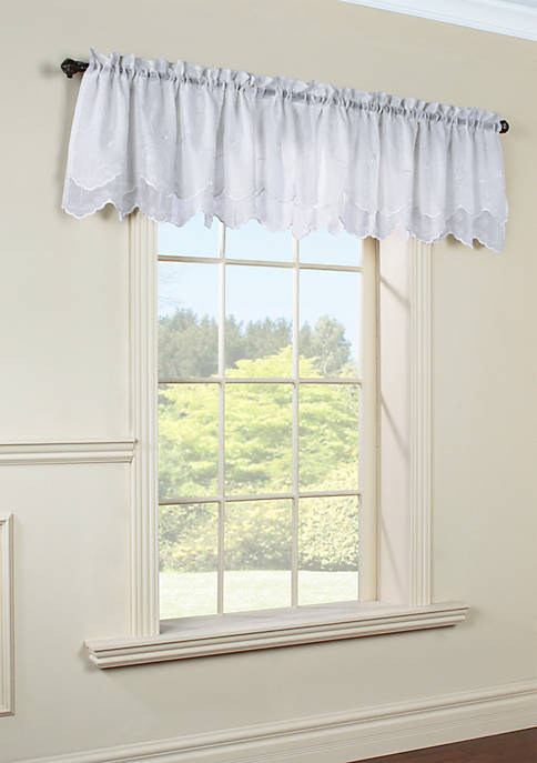Commonwealth Home Fashions Hathaway Valance Window Panel 54-in.
