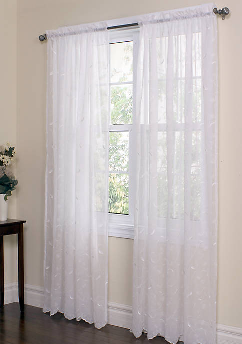 Commonwealth Home Fashions Hathaway Window Panel 54-in. x