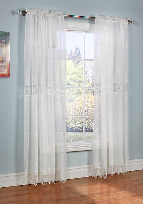 Commonwealth Home Fashions Annamaria Window Treatment Panels