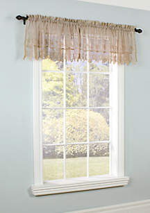 Commonwealth Home Fashions Annamaria Window Treatment Valance