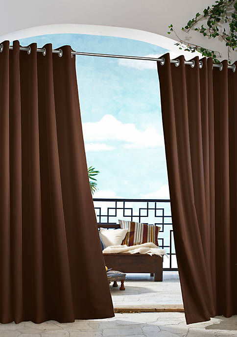 Commonwealth Home Fashions Gazebo Solid Outdoor Window Panel