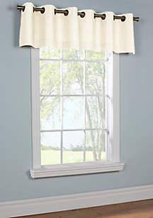 Weathermate Grommet Window Valance