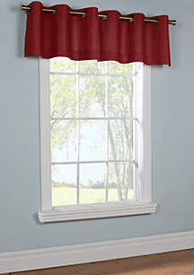 Commonwealth Home Fashions Weathermate Grommet Valance