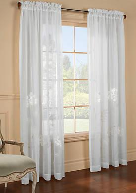 Hydrangea Window Panel 54-in. x 95-in.