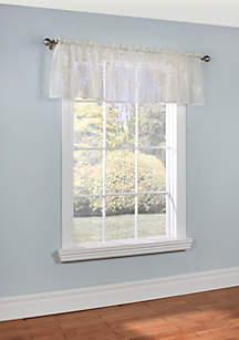 Commonwealth Home Fashions Hydrangea Valance Window Panel 54-in. x 18-in.