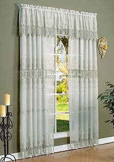 Commonwealth Home Fashions Annamaria Window Treatment - Online Only