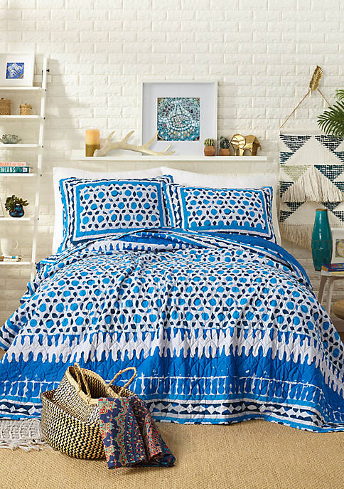 Justina Blakeney by Makers Collective Himaya Quilt Set
