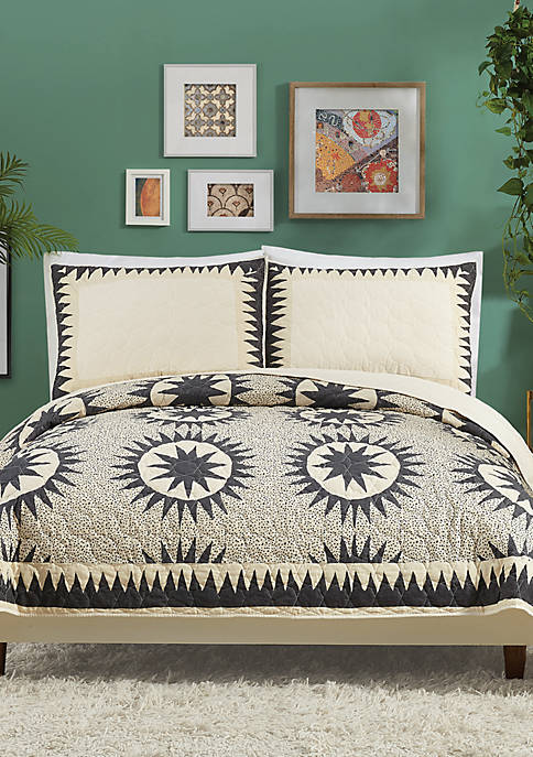 Justina Blakeney by Makers Collective Soleil Quilt Set