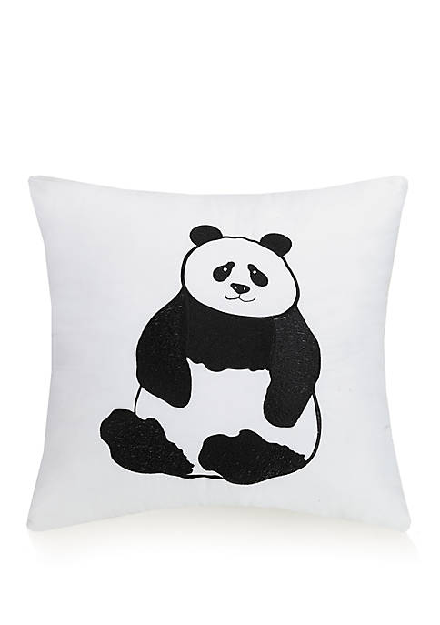 Urban Playground Panda Decorative Pillow