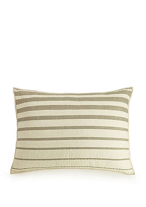 Ayesha Curry Variegated Stripe King Sham