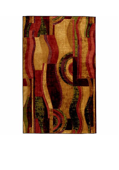 Picasso Wine Area Rug