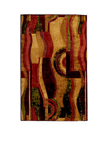 Picasso Wine Area Rug