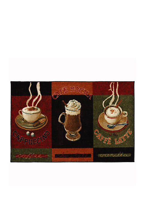 Cafe Latte Printed Area Rug