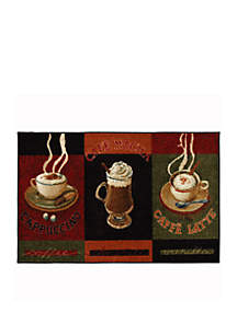 Cafe Latte Printed Area Rug