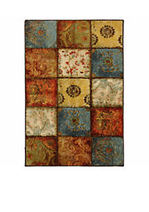 Artifact Panel Multi Color Area Rug