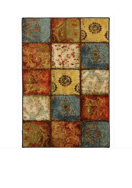 Mohawk Home Artifact Panel Multi Color Area Rug