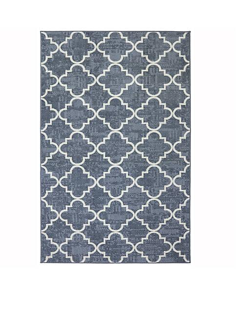 Mohawk Home Fancy Trellis Gray Area Rug 5