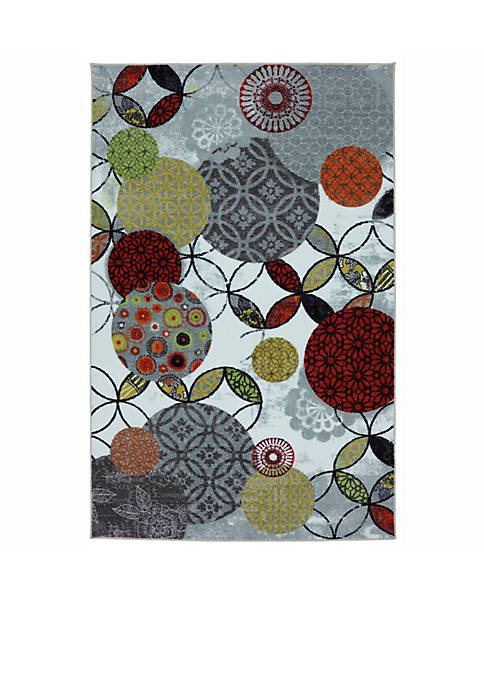 Mohawk Home Give and Take Kaleidscope Area Rug