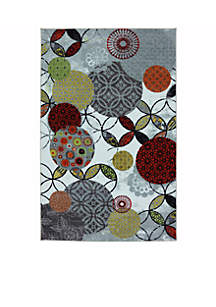 Give and Take Kaleidscope Area Rug 5' x 8'