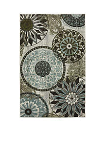 Mohawk Home Inspired India Printed Area Rug