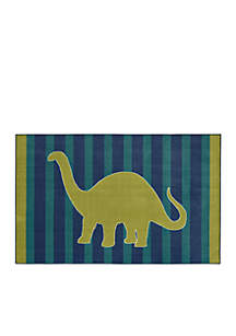Friendly Dinosaur Area Rug
