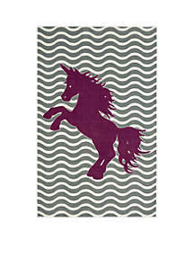 Majestic Unicorn Area Rug