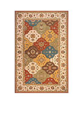 Persian Garden Mosaic Multi Area Rug 2 x 3