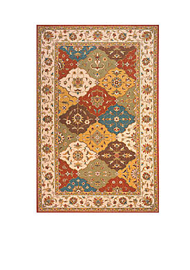 "Persian Garden Mosaic Multi Area Rug 26"" x 8"