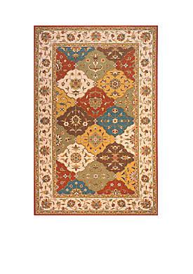 Persian Garden Mosaic Multi Area Rug 5 x 8