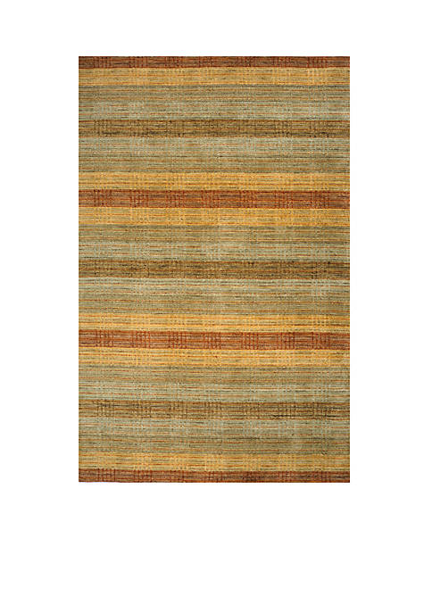 Momeni Gramercy Stripes Multi Area Rug 5 x