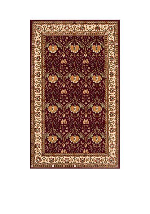 Momeni Persian Garden Meadow Burgundy Rug 2 x