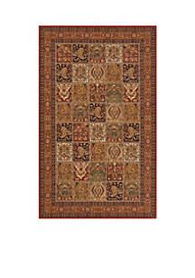 Persian Garden Tiles Multi Area Rug 2'6\