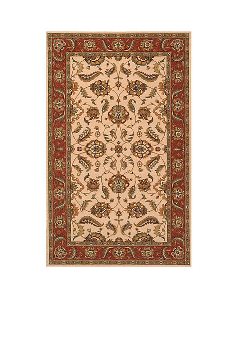 Momeni Persian Garden Blooms Ivory Area Rug 5