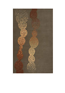 Elements Waterfall Gray Area Rug 5' x 8'